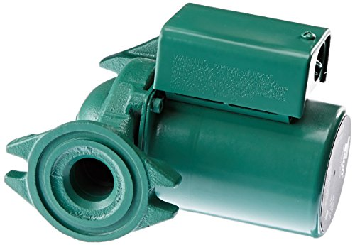 Circulator Cast Iron Pump (Taco 007-F5 Cast Iron Circulator, 1/25 HP)