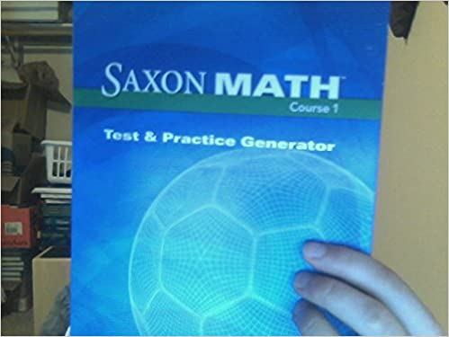 Amazon.com: Saxon Math Course 1: Test & Practice CD-ROM Grade 6 ...