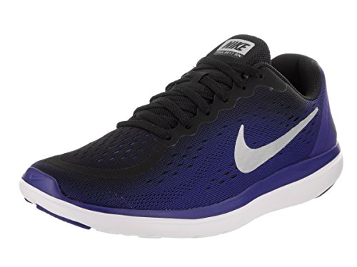 NIKE Kids Flex 2017 RN (GS) Running Shoe Black/Metallic Silver discount free shipping extremely cheap sale outlet outlet free shipping CzX55