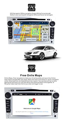 Android 9 1 Double 2 Din Car Stereo CD DVD system DAB+