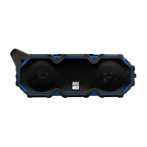 Altec Lansing IMW889 Super Lifejacket Jolt Heavy Duty Rugged and Waterproof Portable Bluetooth Speaker with Qi Wireless Charging, 30 Hours of Battery Life, 100FT Wireless Range and Voice Assistant