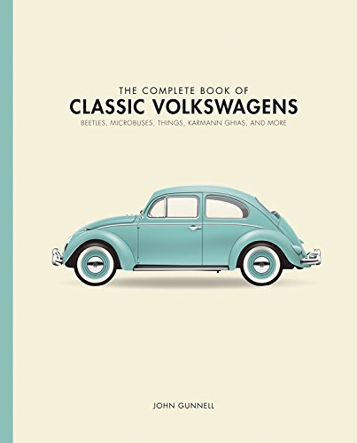 The Complete Book of Classic Volkswagens: Beetles, Microbuses, Things, Karmann Ghias, and More (Complete Book Series) cover