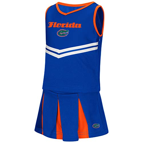 Colosseum NCAA Toddler-Girls Team Cheer Set-Florida - Ncaa Gators Stripes Florida