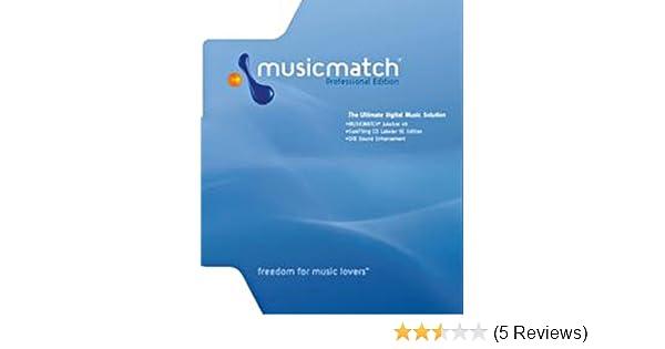 Amazon com: MusicMatch Jukebox Professional 8: Software