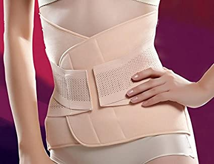 97481e8fbde Buy Generic Women Postpartum Belly Recovery Belt Maternity Tummy Wrap Corset  Pregnancy Girdle Slimming Waist Belly Band Shapewear Female Nude M Online  at ...