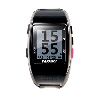 PAPAGO GLWPN-HB-US GoWatch 770 Multi-Sports GPS Watch with GoHeart 100 ANT+ Heart Rate Monitor (Pink)
