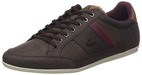 Lacoste Chaymon 318 2 Cam, Sneaker Uomo Marrone (Dk Brw/Brw 2e2)