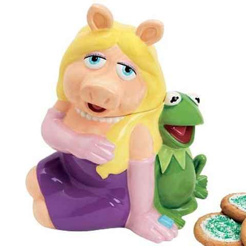 Disney Muppets Kermit & Miss Piggy Cookie Jar