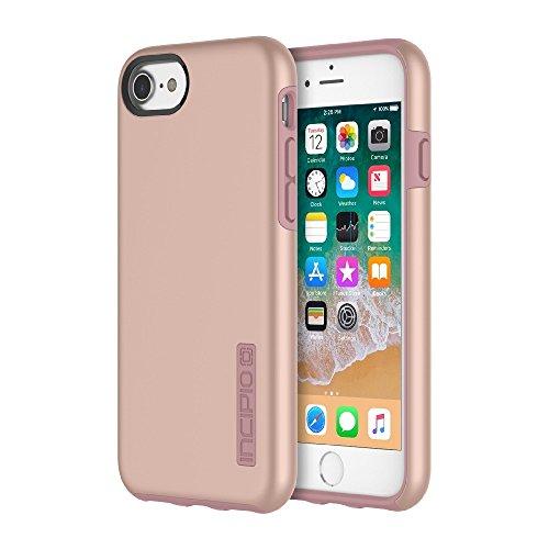 Incipio IPH-1465-RGD Apple iPhone 6 / 6s / 7/8 DualPro Case - Iridescent Rose Gold (Incipio Stowaway Case For Iphone 6 Plus)