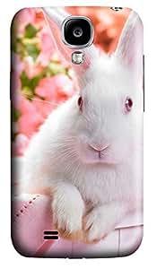 Samsung S4 Case Black Bunny Happy Easter794 3D Custom Samsung S4 Case Cover