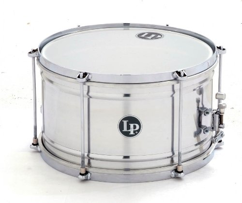 Latin Percussion Aluminum Caixa Snare Drum, 7X12