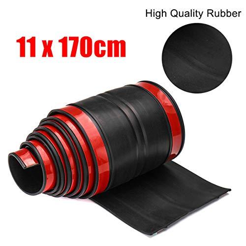170cm Universal Rubber Truck Bed Tailgate Gap Cover Filler Seal Shield Lip ()