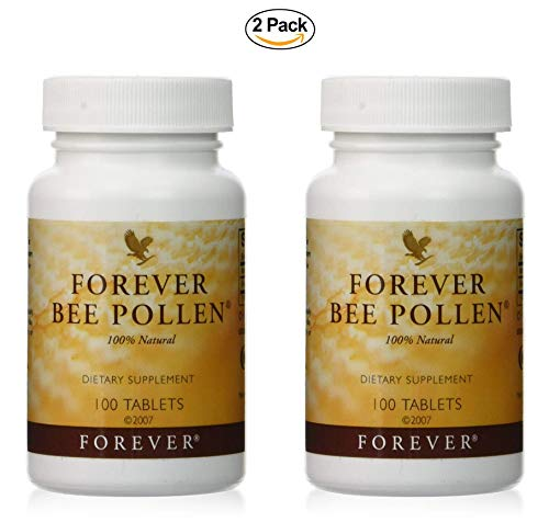 Forever Living Bee Pollen, Pack of 2 (200 Tablets)