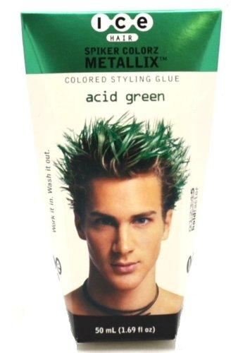 Joico ICE Hair Spiker Colorz Metallix Acid Green 1.69 fl. oz. (50 ml)