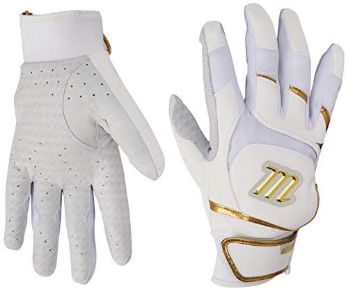 Marucci MBGSGNP-W/GD Pittards Signature Batting Gloves, X-Large