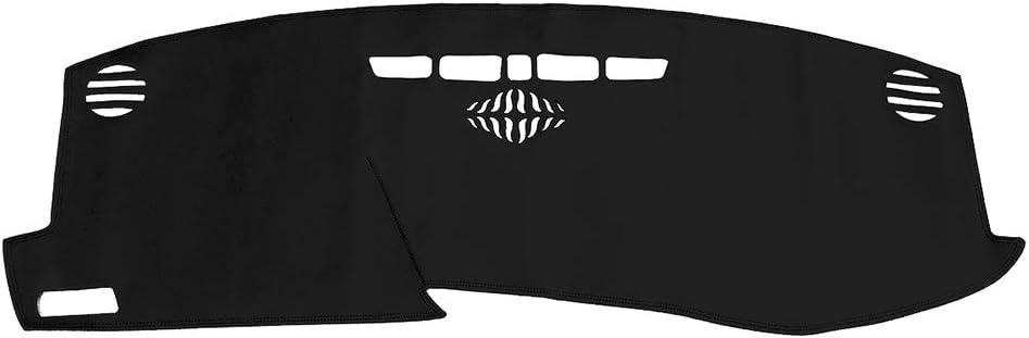 Yeeoy New Black Dash Mat Dashboard Cover Carpet Custom Replacement for Cadillac XT5 2016 2017 2018 2019