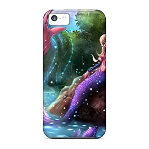 High Quality Shock Absorbing Cases For Iphone 5c-mermaid