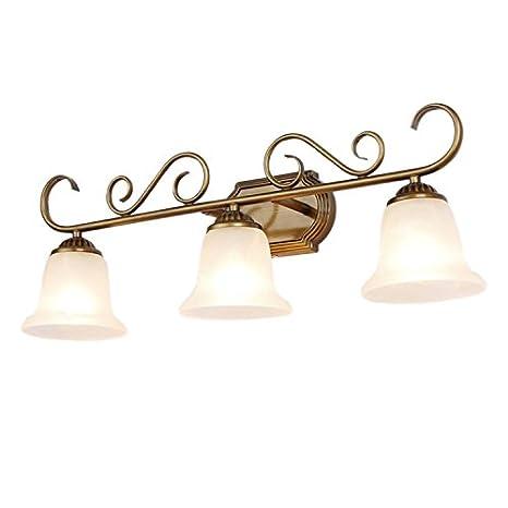 Yaeer - Lámpara de techo para baño (3 luces, acabado pintado ...