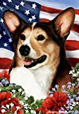 "Welsh Corgi Pembroke Tri Color Dog – Tamara Burnett Patriotic I Garden Dog Breed Flag 12"" x 17"" Review"