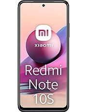 Redmi Note 10S Smartphone RAM 6 GB ROM 64 GB 6,43 '' AMOLED DotDisplay 64 MP camera 33 W snel opladen MediaTek Helio G95 3,5 mm koptelefoonaansluiting 5000 mAh (typ) Batterij grijs [Wereldwijde versie]