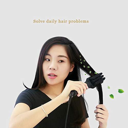 CHERRIESU Negative Ionic Hair Straightening Brush Ceramic Detangling Comb Anion Digitial LED Hair Care, Fast Heating, Anti-Scald Hair Brush 220V by CHERRIESU (Image #7)