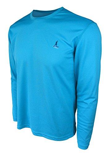 Stand Up Paddle Board Shirt - Mens Long Sleeve Aqua by NALU - paddleboard apparel