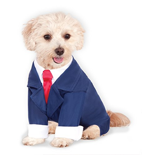 [Business Suit for Pet, X-Large] (Business Suit Dog Costume)