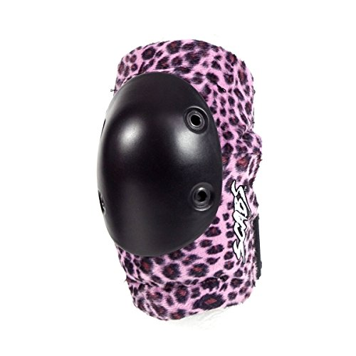 Smith Safety Gear Leopard Elbow Pads, Pink Leopard, Large/X-Large by Smith Safety Gear