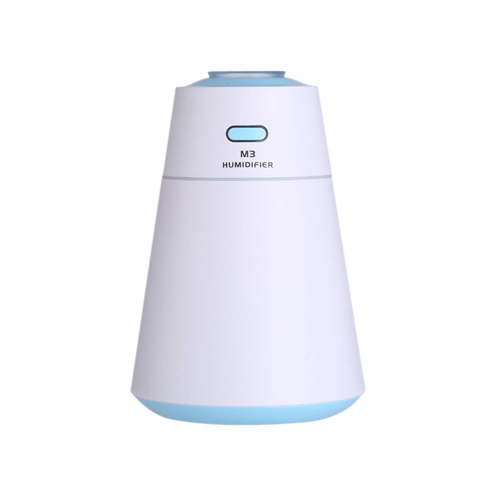 Vosarea 200ml USB Essential Oil Diffuser Ultrasonic Aroma Cool Mist Humidifier for Office Bedroom Baby Room Study Yoga (Blue)