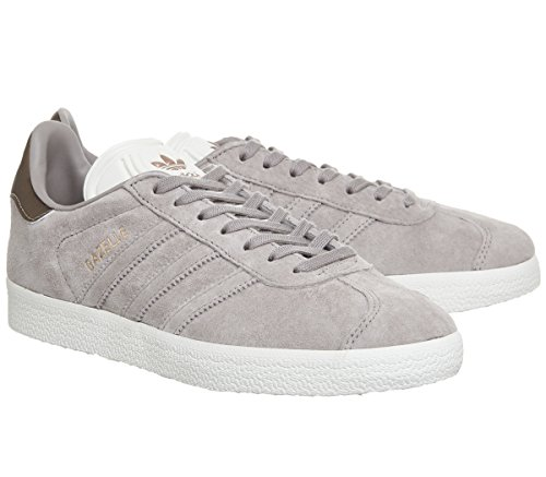 Trainers Adidas White Mens Copper Vapour Grey Suede Off Exclusive Gazelle 44ZwqtF