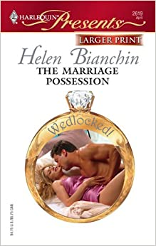 Book The Marriage Possession (Harlequin Large Print Presents)