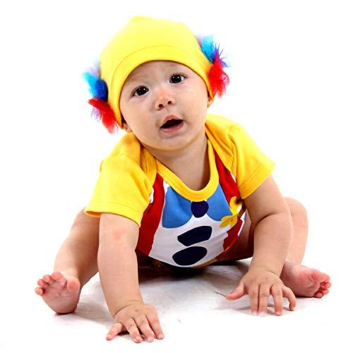 Fantasia Body Palhaço Bebê Sulamericana Fantasias G-9 Meses