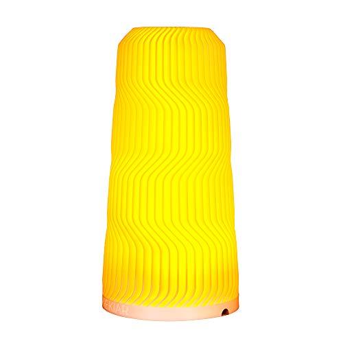 3D Printed Bedside Table Lamp, PREKIAR Touch Sensitive Lamp, Adjustable Warm/White Lighting Memory Function Bedroom Living Room Office Night Lamp