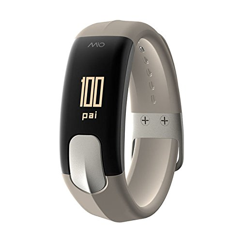 Mio Slice Heart-Rate-Monitors, Stone, Large