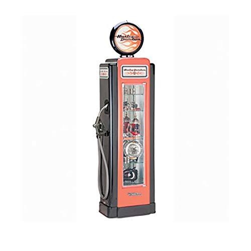 Harley-Davidson Super Premium Gas Pump Glass Display - Harley Grills Davidson