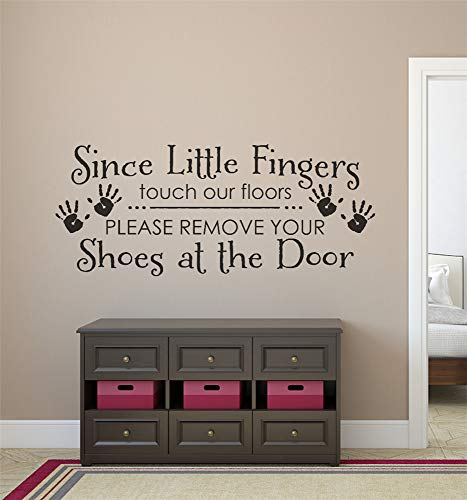 Cheap  Vinyl Removable Wall Stickers Mural Decal Art Family Decals Please Remove Your..