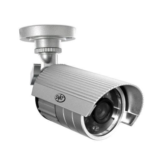 SVAT 11001 75-Feet Hi-Resolution Outdoor Night Vision Security Camera (Silver)