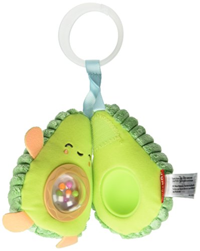 Skip Hop Silver Lining Cloud Rattle Moon Stroller Toy, Multi