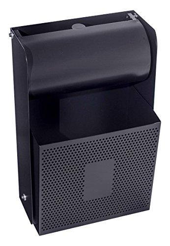 Jofel al72500F Papierkorb Wandaschenbecher Tapete Wippschalter, graphit AL72500F