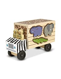 Melissa & Doug Animal Rescue Shape Sorting Truck BOBEBE Online Baby Store From New York to Miami and Los Angeles