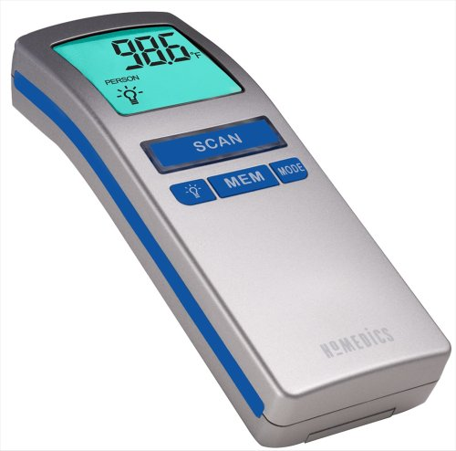 homedics no touch thermometer - 4