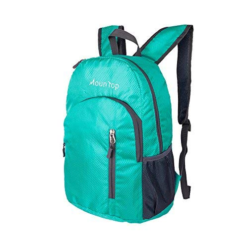 MounTop Outdoor Lightweight Foldable Water Resistant Backpack for Travel Hiking Riding