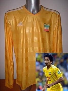 adidas Etiopía Away Largo Sleved Camiseta Jersey fútbol