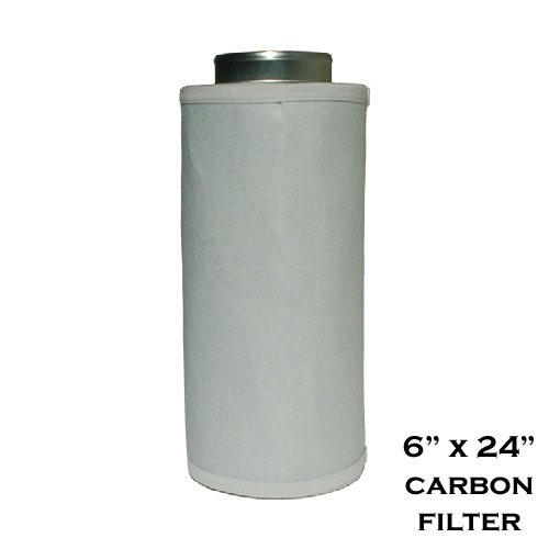 """Virtual Sun Performance 6"""" x 24"""" Activated Carbon Scrubbe..."""