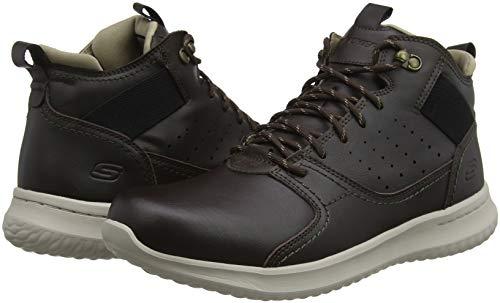 Delson ortego Sneaker Chocolate Uomo chocolate Marrone Skechers q4Sf7B