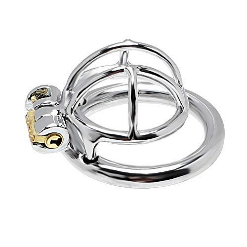 Victory Body Accessories Small P☻ê☻nís Cǎge C`hástíty D-évicé P☻ê☻nís Rings Stainless Steel ()