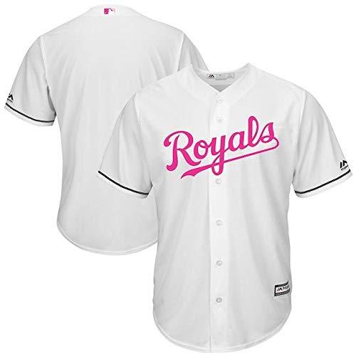 Majestic Majestic White Kansas City Royals White Mother's Day Cool City Day Base Replica Team Jersey スポーツ用品【並行輸入品】 XXL B07GNW92ZG, 無添加ガーゼケット寝具工房松並木:b882b0b3 --- cgt-tbc.fr