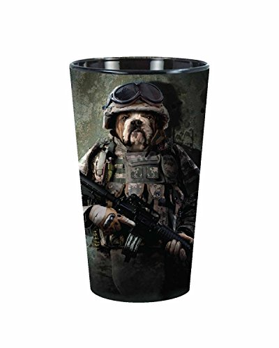 The Mountain Combat Sam Marines Pint Glass