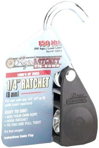 Rope Ratchet 10016 Ratcheting