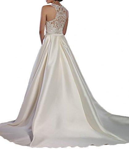 Lamia Braut Elfenbein Etuikleider Hochzeitskleider Brautkleider